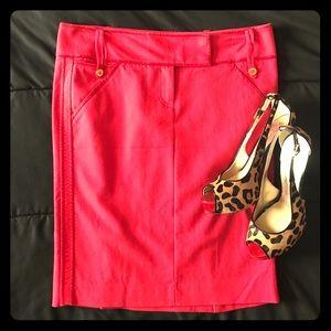 Marciano Tuxedo Pencil Skirt